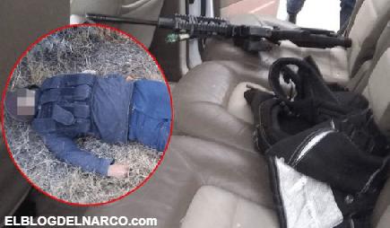 Enfrentamiento entre policías y sicarios del CJNG deja a 2 Gatilleros muertos y 2 heridos en Apaseo el Grande, Guanajuato (Fotos)