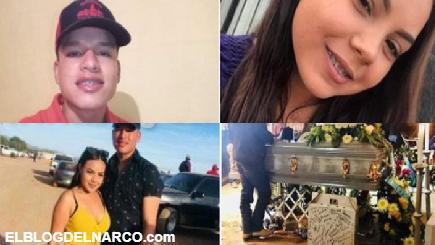 Fernando y Anahí de 17 y 19 años fueron abatidos en su deportivo no se pararon en retén Militar.