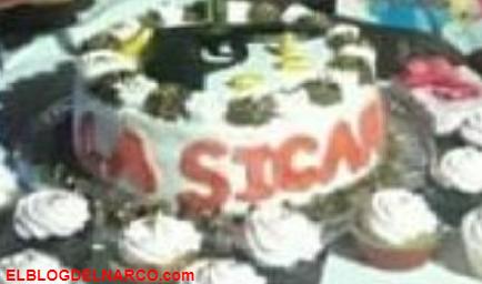 Niña celebra su cumpleaños con temática de sicaria (IMÁGENES)