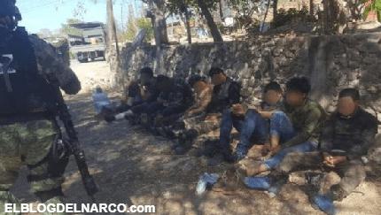 Capturan a 18 Sicarios en el municipio de Zirámdaro, Guerrero