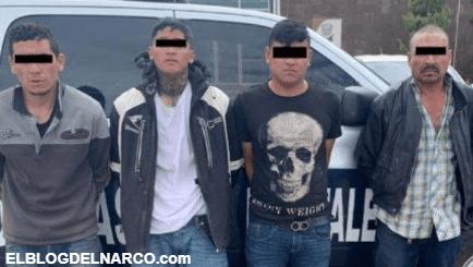 Detienen a cuatros Sicarios de la Gente Nueva fuertemente armados en Cuauhtémoc, Chihuahua