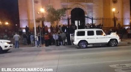 Se casa hija de 'El Chapo' en catedral de Culiacán en evento 'blindado'