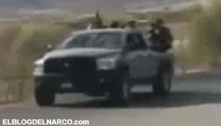 Sicarios del CJNG anuncian su llegada a San Lucas, Michoacán (VÍDEO)