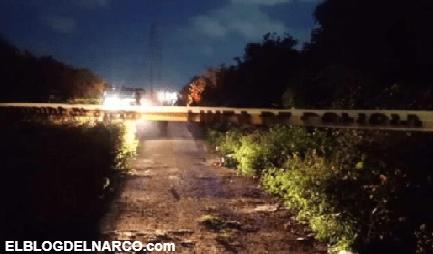 Tras reporte de detonaciones, encuentran a 3 personas ejecutadas y a una más herida en Cancún