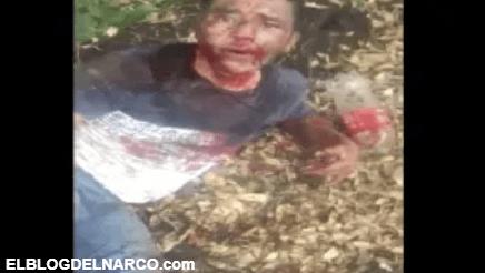 Vídeo donde Grupo Árabe del CJNG interroga y ejecuta sin compasión a uno de Cártel de los Viagras