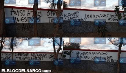 CJNG deja narcopintan en campo de beisbol amenazando y anunciando su llegada a Oaxaca