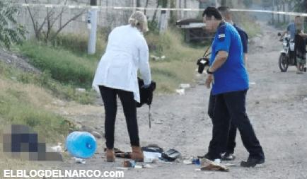 Ejecutan con rifle AK-47 a un joven en el sector Nueva Galicia, Sinaloa