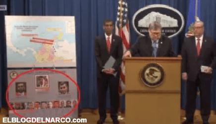 Estados Unidos acusa a Nicolás Maduro de narco, ofrece $25 millones para detenerlo...