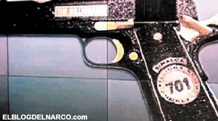 Este es el precio de la pistola de Joaquín 'El Chapo' Guzmán