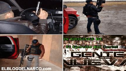 Grupo Gente Nueva de El Cartel de Sinaloa en el estado de Puebla y Oaxaca