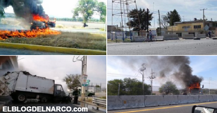 Guanajuato arde! reportan Narcobloqueos, quema de vehículos y ponchallantas en diversas carreteras