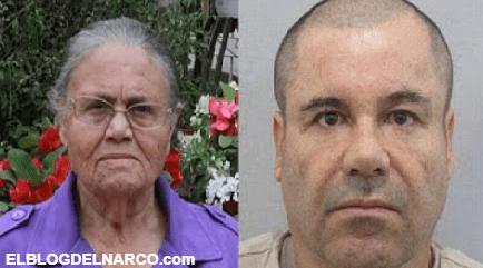 Le niegan a El Chapo Guzmán pedido para recibir visita de su madre María Consuelo Loera Pérez
