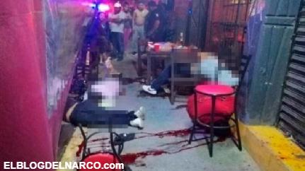 Mas información de los clientes acribillados de bar en Edomex; siete muertos