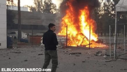 Obrador dice que la explosión ayer del Coche Bomba en Celaya, Guanajuato fue solo un acto propagandístico