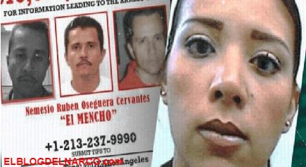 Por Casualidad así detuvo la DEA a la hija de El Mencho líder del CJNG, acudía a la audiencia de su hermano El Menchito cuando fue detectada