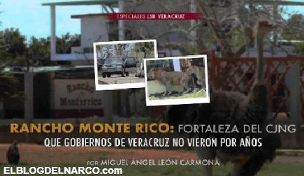 Rancho Monte Rico, Fortaleza del Cartel de Jalisco Nueva Generación que gobiernos no vieron...