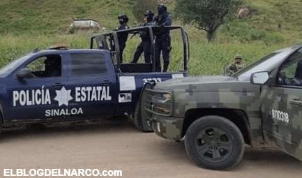 Sicarios embisten y vuelcan una patrulla de la SEDENA y desatan balacera en Culiacan, Sinaloa