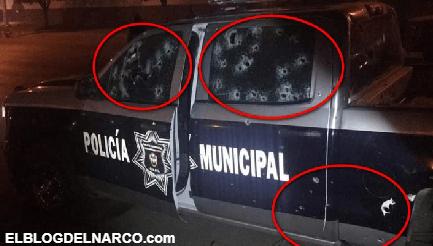 """Sicarios emboscan y llegan de plomo a tres policías en Guanajuato; se atribuye ataque a """"El Marro"""""""