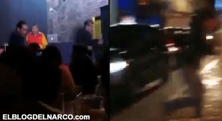 Terror en San Andrés Cholula, comando atacó un bar y dejó tres heridos