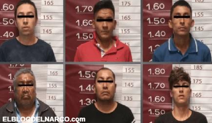 Capturan a 6 Sicarios del Cártel Jalisco Nueva Generación en Edomex