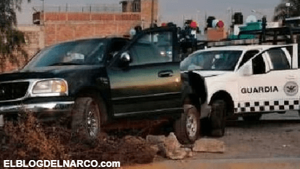 Decomisan arsenal y capturan a 5 miembros del Cártel Santa Rosa de Lima