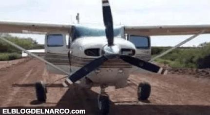 Decomisan avioneta relacionada con el narco en Quintana Roo