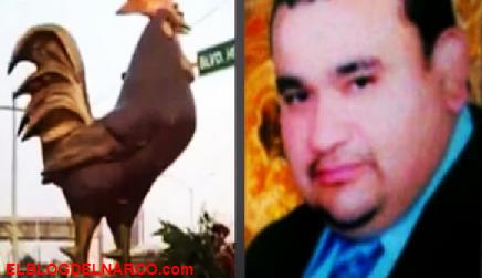 """El Monumento de el Narco, Samuel Flores Borrego """"el Metro"""" del Cartel del Golfo"""