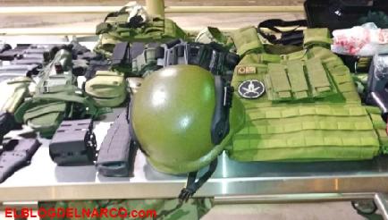 Equipo táctico de guerra y miles de balas llegan a los narcos en contrabando hormiga