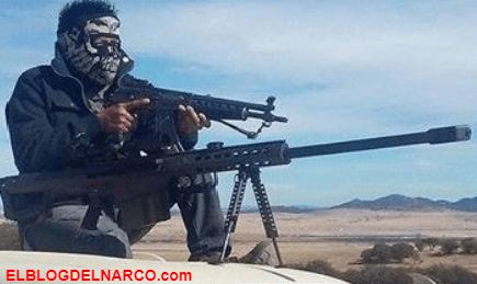 """FOTOGRAFÍAS Esto son los sicarios de El Cártel de """"El Jaguar"""" que pelean con el Cártel de Juárez"""