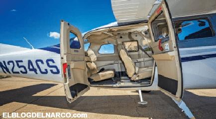"""La Cessna 206 Están era las aeronaves favoritas de """"El Chapo"""" Guzmán"""