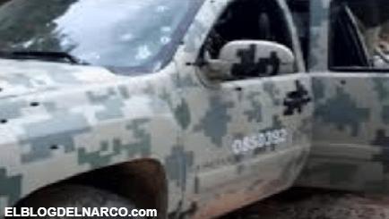 """Pistoleros del C.D.N sigue clonando trocas de """"Fuerzas Especiales"""" y Militares en Nuevo León"""