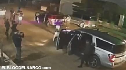 VÍDEO Sicarios de Los Salazar rodean la casa de un ex policía y disparan cientos de balas