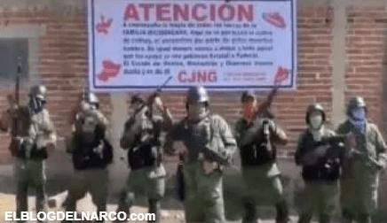 """El Cártel Jalisco Nueva Generación anuncia """"toque de queda"""" en Estado de México"""