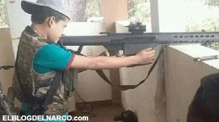 VÍDEO El Cártel de Sinaloa, la guardería del narco... presenta a 'El Chonito', nuevo niño sicario