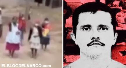 VÍDEO El Mencho anunciaron su llegada a Guatemala y la población los recibió con porras y ovaciones.
