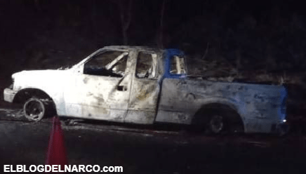 Hallan cuerpos de cinco personas ejecutadas y calcinadas en una camioneta en Jalisco
