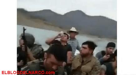 VÍDEO Sicarios de Los Chapitos llegan en lancha a Tepuche, para enfrentarse a la gente del Mayo