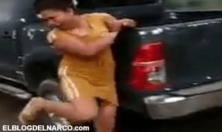 """Vídeo muestran los castigos de sicarios a mujeres, """"Todas las cosas que se hagan aquí se reportan""""."""
