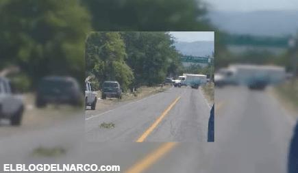Balaceras entre Sicarios en Nueva Italia y Lombardía en Michoacán desata Narcobloqueos