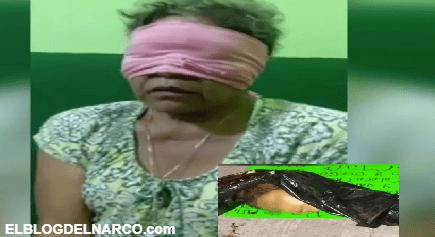 Cártel Jalisco Nueva Generación interroga y descuartiza a señora por vender droga (VIDEO)