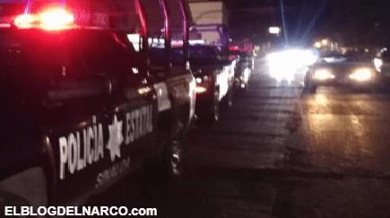 Convoy de Sicarios transitan calles de Culiacán y le dan un balazo en el pie a joven de 12 años