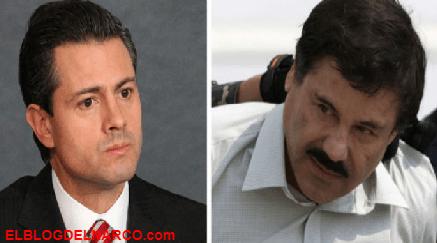 """El día que Chapo llamo a Peña Nieto """"Soy Joaquín Guzmán Loera, ¿Te suena el nombre"""