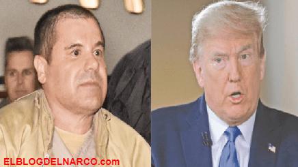 """El día que Donald Trump fue presidente y horas antes extraditaron a """"El Chapo"""" a EU como ofrenda"""