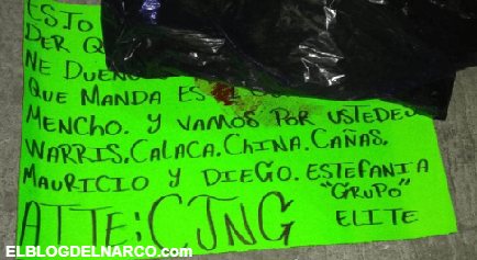 Hallan cuerpo de un hombre con mensaje del CJNG en Cortazar, Guanajuato