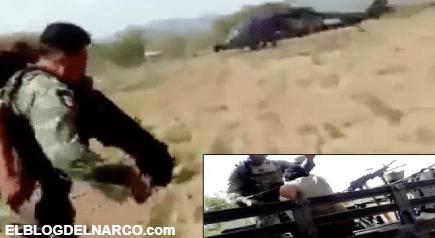 Los Cárteles Unidos emboscan a soldados, hieren a uno pero ellos abaten a 5 sicarios (VIDEO)