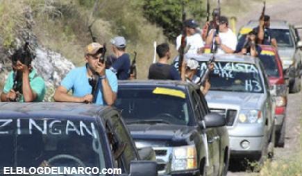 """Los Viagras, el grupo criminal que protege a """"El Marro"""" de el CSRL en Michoacán"""
