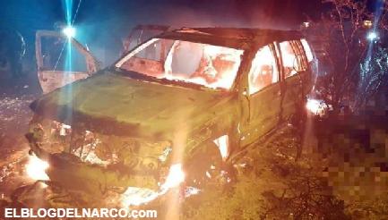 Pistoleros del Cartel del Noreste Mueren calcinados tras enfrentarse a Policías en Nuevo León