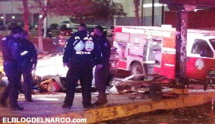 Por echar carreritas Atizapán de Zaragoza chocaron, se mataron 2 y dos más quedaron heridos