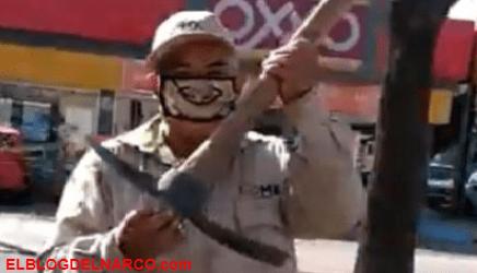 Trabajadores de limpieza se burlan del Mencho y parodian VIDEO del Grupo élite de CJNG