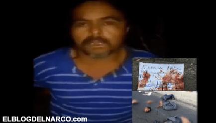 VÍDEO Sicarios del CJNG interrogan y luego cortan en pedazos a dos hombres